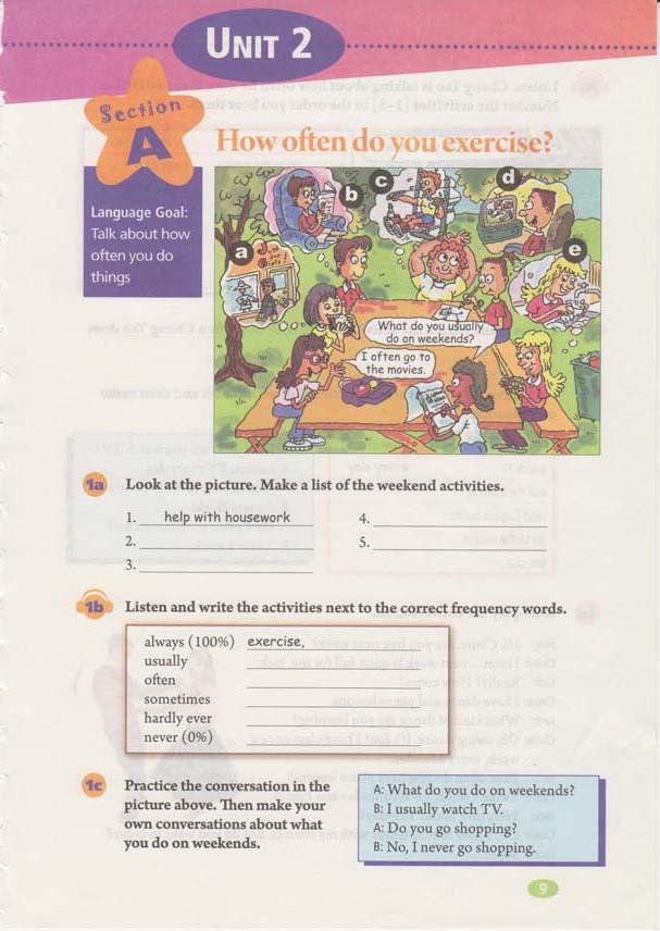 人教版八年级上册英语Unit2电子书