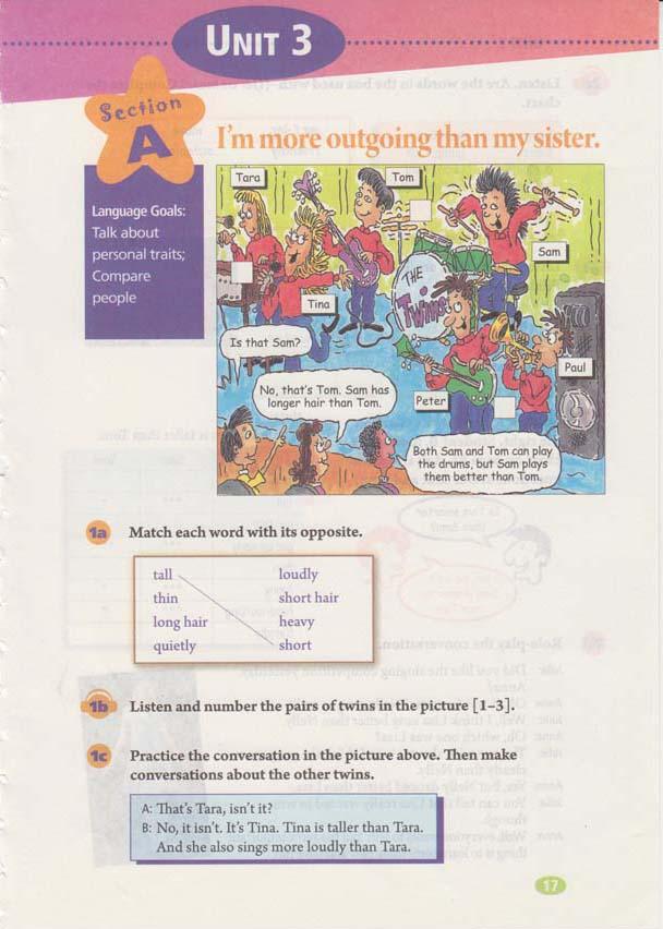 人教版八年级上册英语Unit3电子书