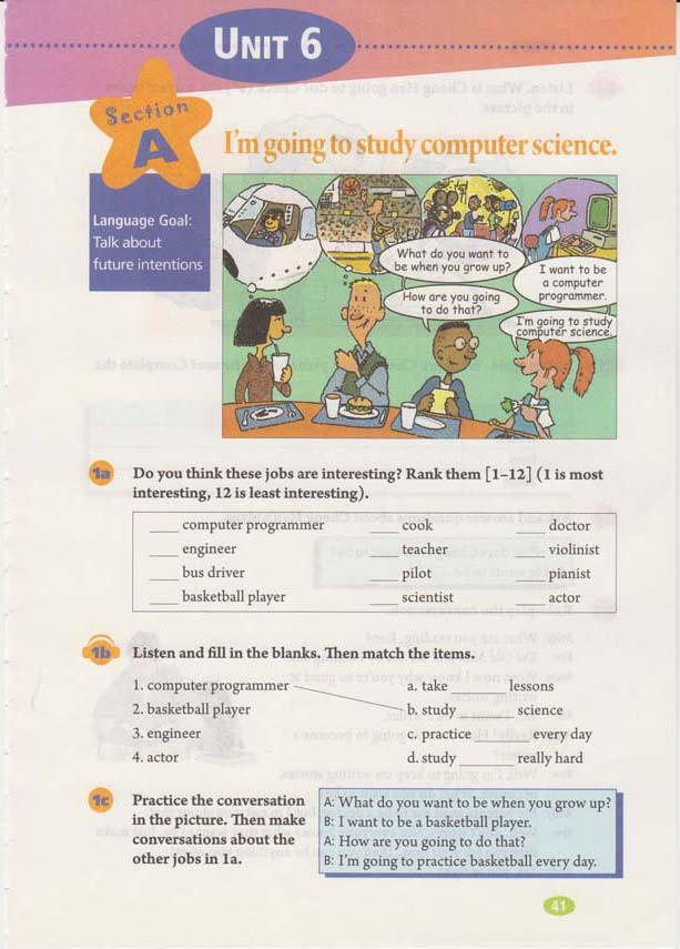 人教版八年级上册英语Uni6电子书