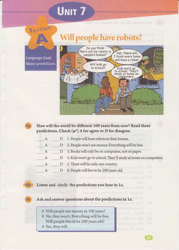 人教版八年级上册英语Uni7电子书