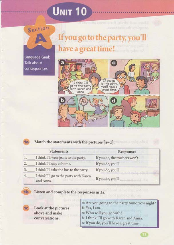 人教版八年级上册英语Unit10电子书
