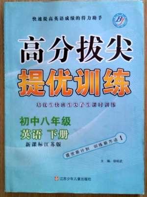 尖子生课时训练八年级下英语江苏青少年儿童出版社