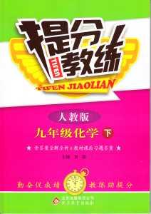 2015 提分教练九年级下化学北京教育出版社