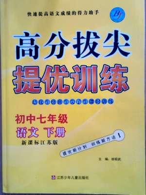 尖子生课时训练七年级下语文江苏青少年儿童出版社