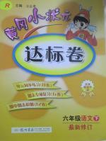 黄冈小状元达标卷六年级语文下册人教版