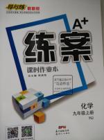 沪教版九年级上册化学A加练案课时作业本答案