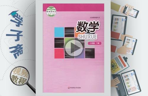 华师大版八下数学基础班教学视频