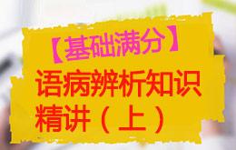 语病辨析知识精讲(上)