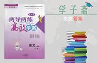 语文s版三年级下册语文两导两练高效学案答案