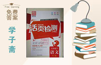 2016年通城学典活页检测九年级语文下册人教版答案