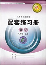 青岛版八年级上册数学配套练习册答案