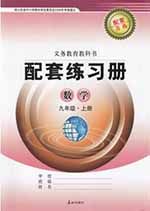 青岛版九年级上册数学配套练习册答案