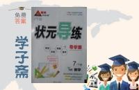 2016年黄冈状元导练导学案七年级数学下册湘教版答案